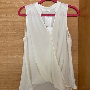 New Lush ivory blouse size small